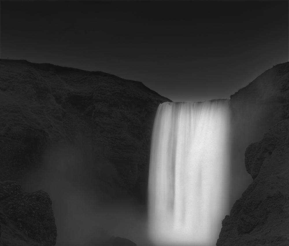 Water wall, 2012, Iceland © Francesco Bosso