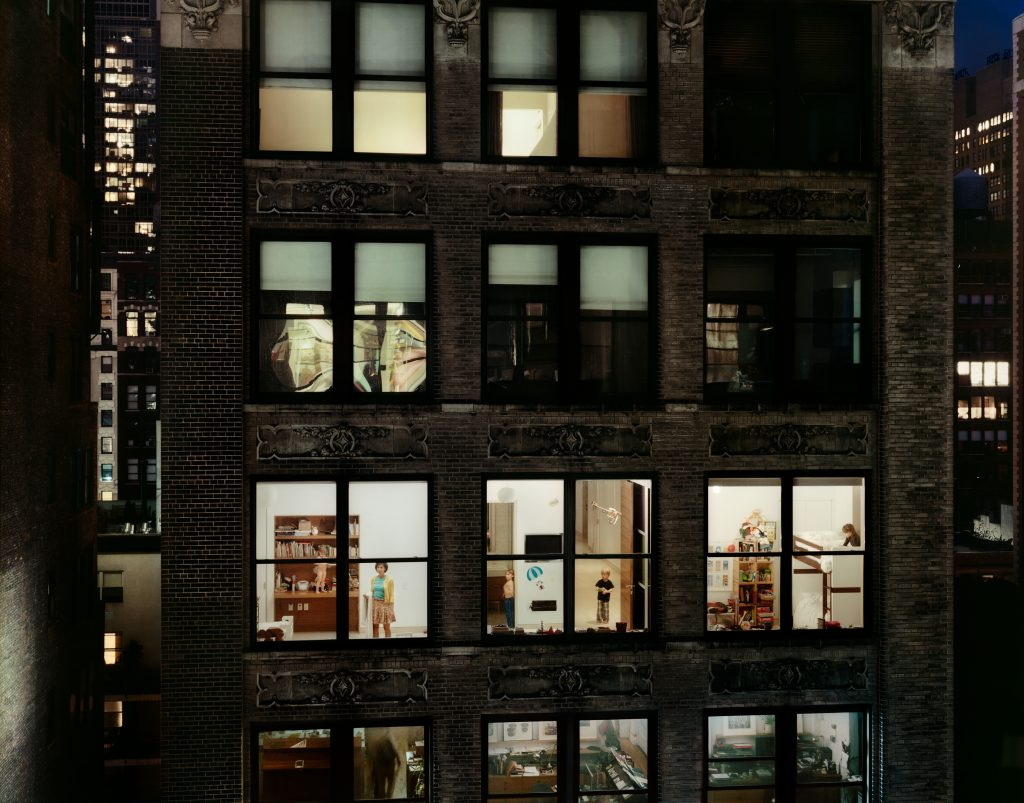 Chelsea, 29th Street, Downstairs Neighbour, 2011, New York © Gail Albert HalabaN